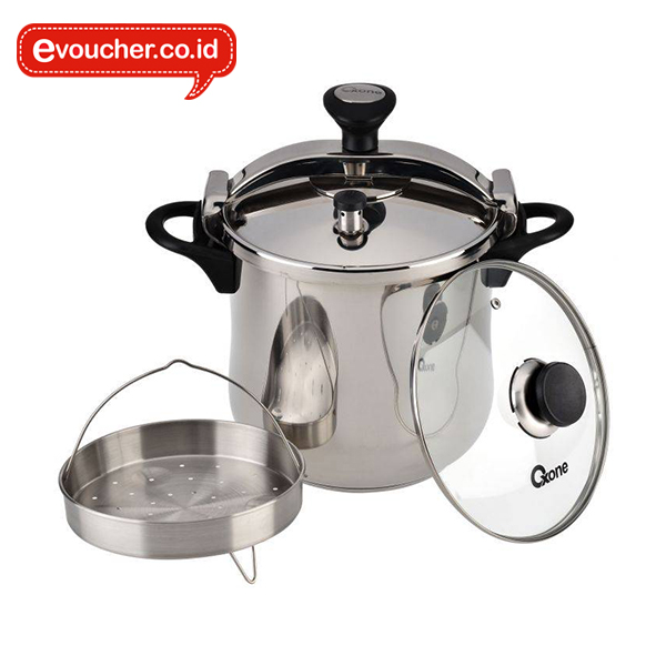 OX-1022 Power Presto Pressure Cooker Oxone 12 Lt
