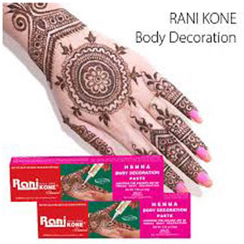 Henna Rani Kone Body Decoration-18 dan 30 gr !!!