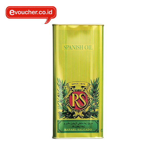 REFINED OLIVE POMACE OIL blended with extra virgin olive oil dengan kemasan kaleng
